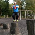 jump up övning