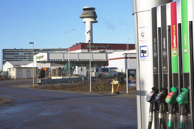 HVO100 pump Arlanda