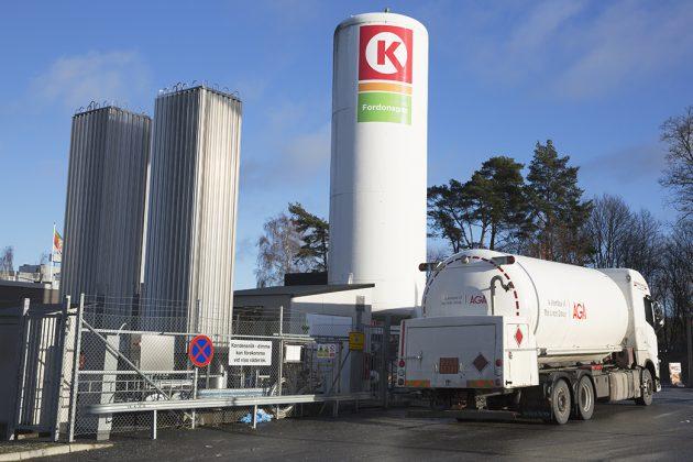 Anläggning Fordonsgas