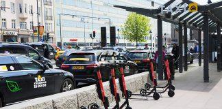 Persontransporter i en allt trängre citytrafik.