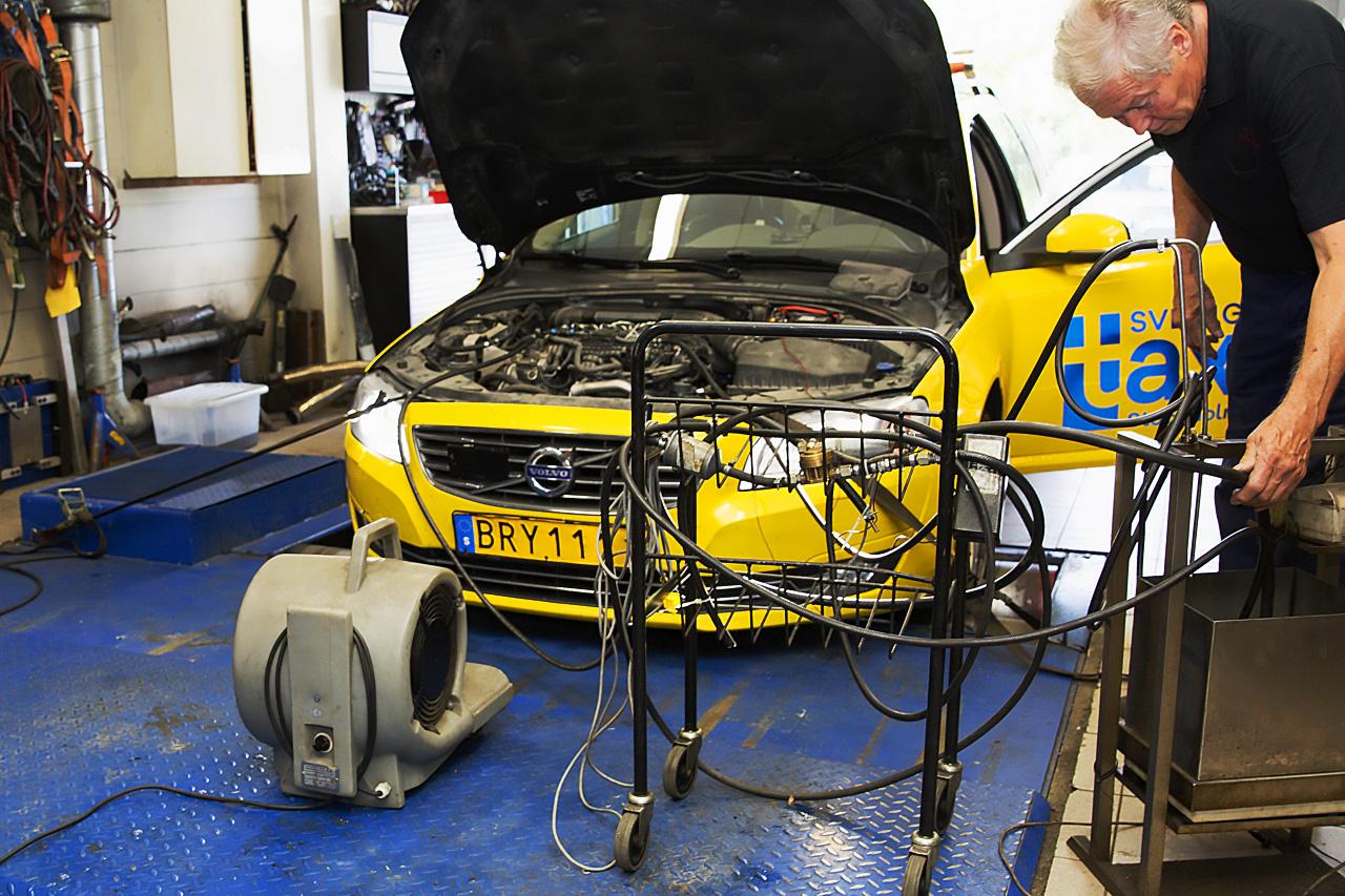 Bränsletest Sverigetaxibil